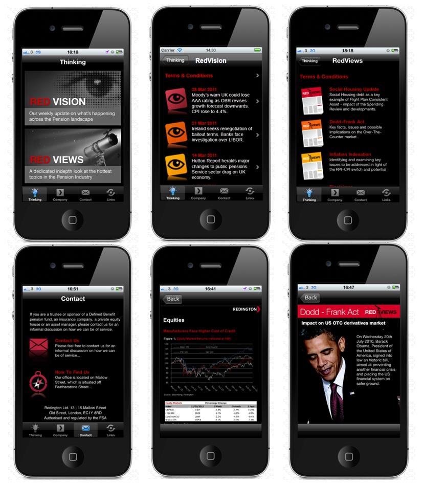Redington-App