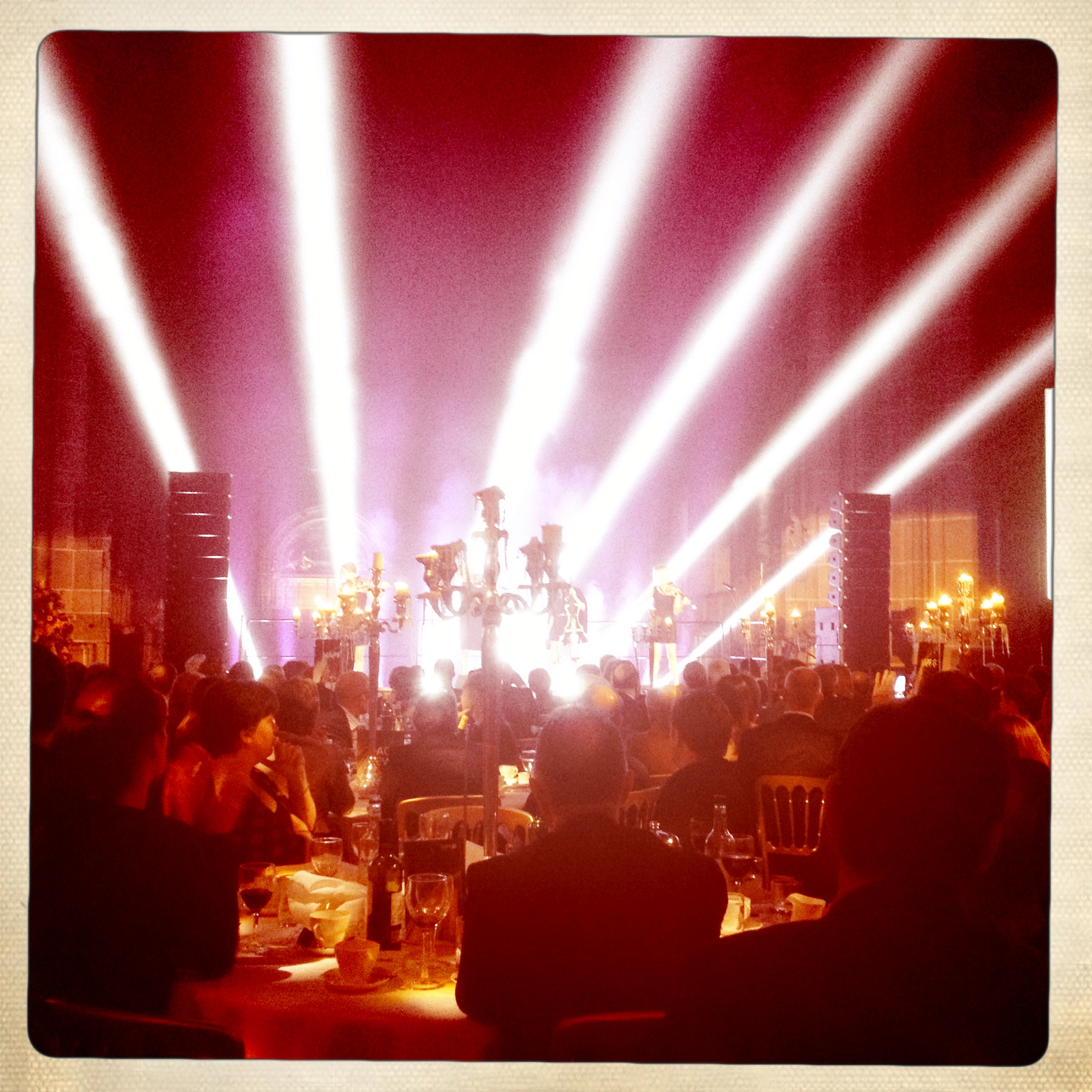 Escala performing at NAPF Gala dinner